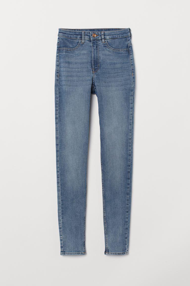 Super Skinny High Jeans - Light denim blue - Ladies