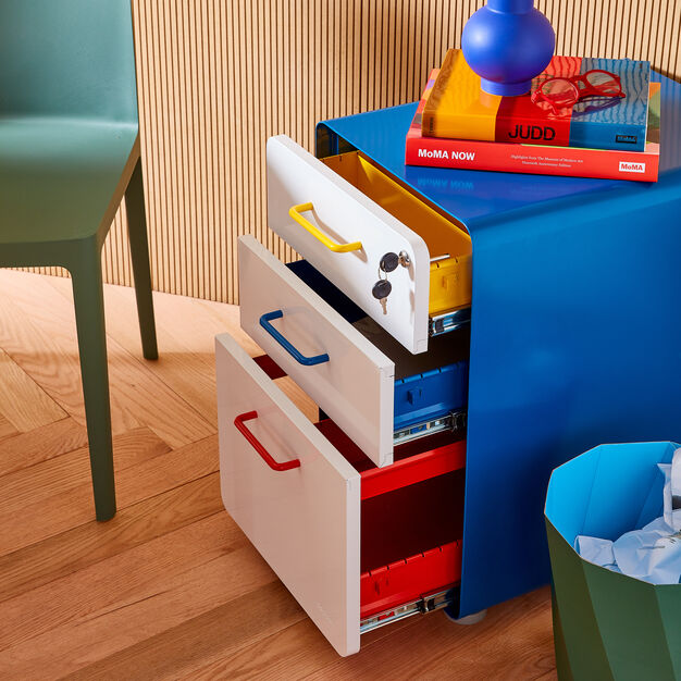 Poppin Stow 3-Drawer File Cabinet