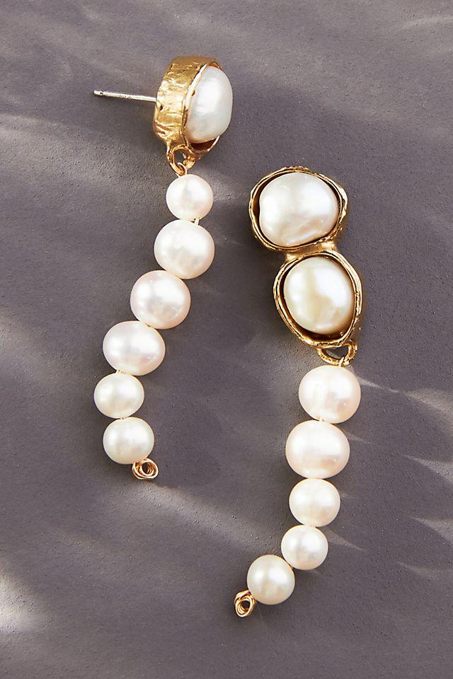 Treasure Pearl Drop Earrings