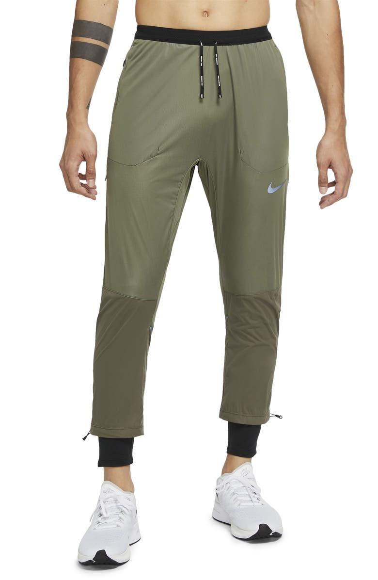 NIKE Swift Shield Water Resistant Running Pants, Main, color, TWILIGHT MARSH