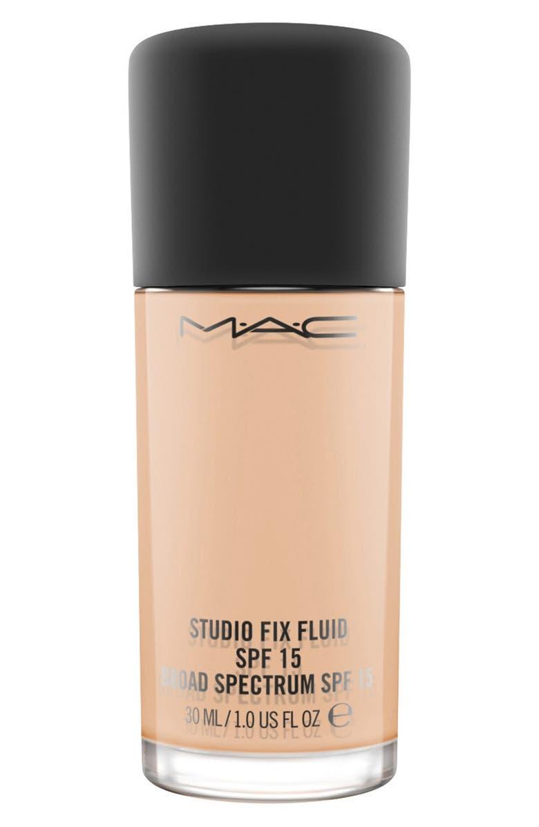 MAC Studio Fix Fluid Foundation Broad-Spectrum SPF 15, Main, color, NW20 WARM NEUTRAL ROSY
