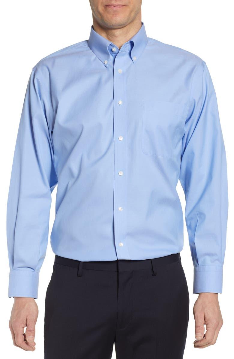 Smartcare™ Classic Fit Dress Shirt, Main, color, BLUE HYDRANGEA