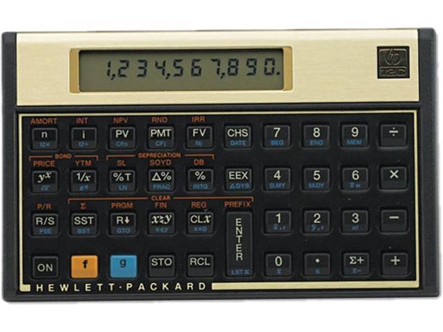 12C 12C Financial Calculator, 10-Digit LCD