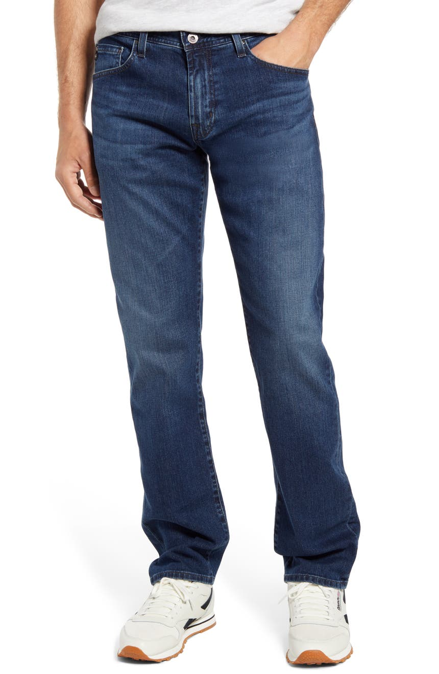 Men's Graduate Tailored Straight Leg Jeans, Main, color, MARLEY