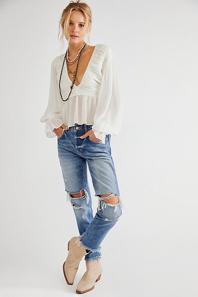 Good Time Relaxed Skinny Jeans