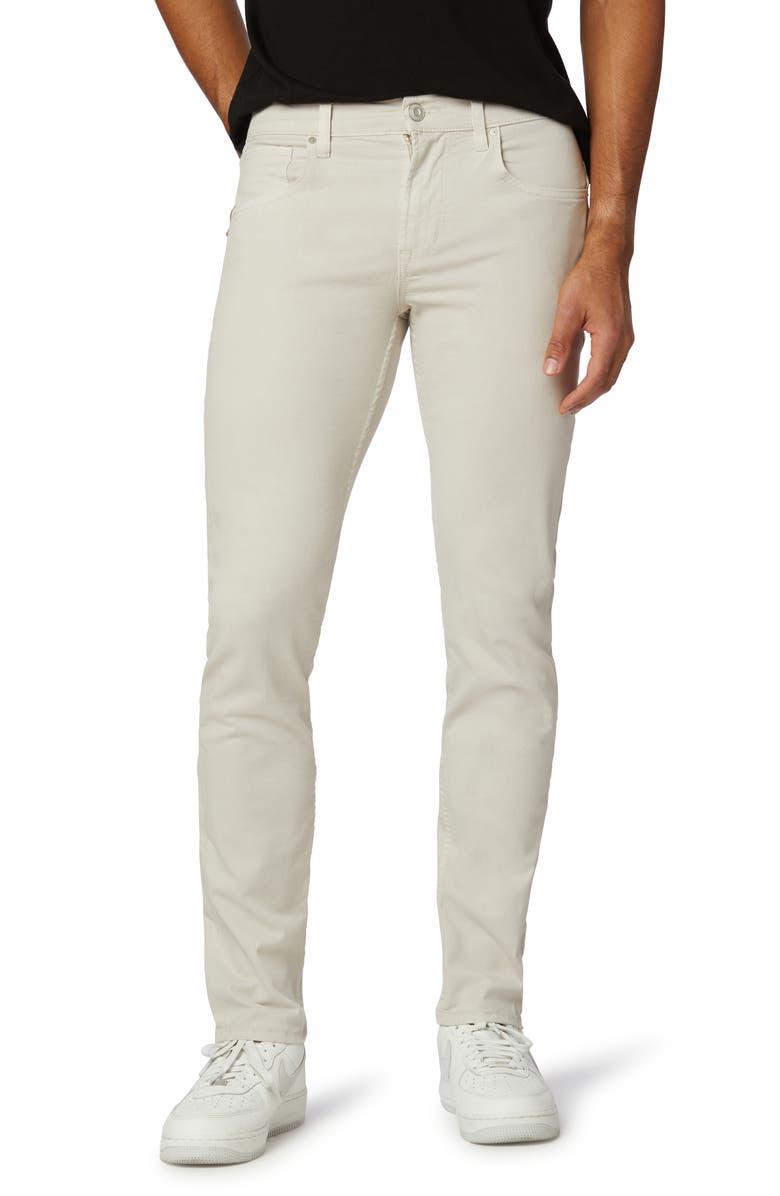 HUDSON JEANS Blake Slim Straight Fit Stretch Jeans, Main, color, LIGHT ASH