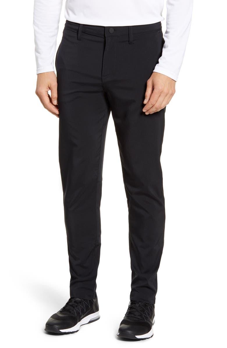 Hybrid Tech Commuter Pants, Main, color, BLACK