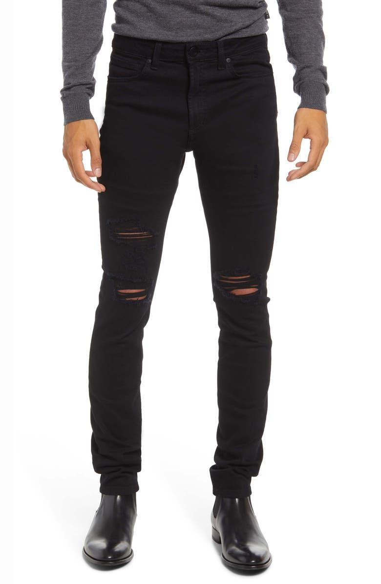 MONFRÈRE Men's Greyson Skinny Fit Stretch Jeans, Main, color, SLASH SOIREE