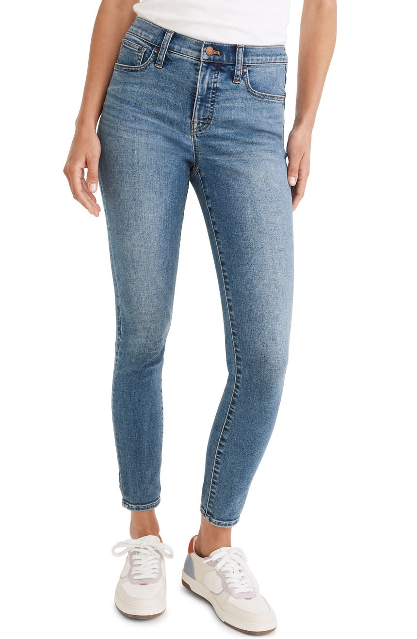 9-Inch Mid-Rise Roadtripper Authentic Jeans, Main, color, ENFIELD