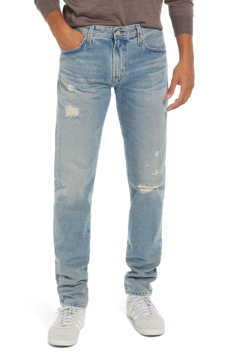 AG Men's Dylan Skinny Jeans, Main, color, 21 YEARS CITADEL DESTRUCTED