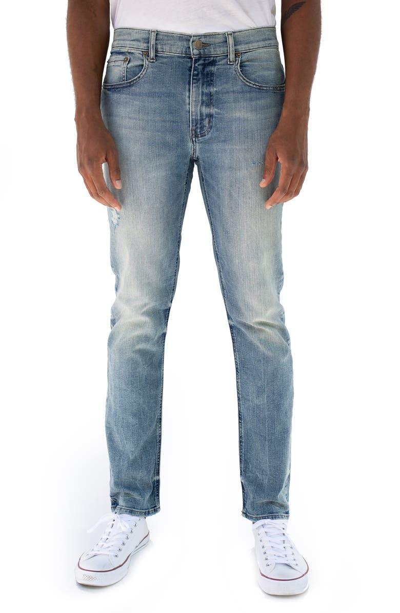Fig Skinny Fit Stretch Jeans, Main, color, PASADENA