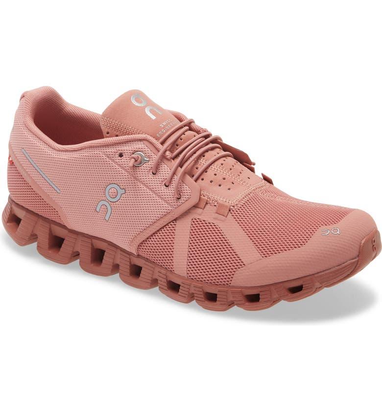 ON Cloud Monochrome Sneaker, Main, color, PINK