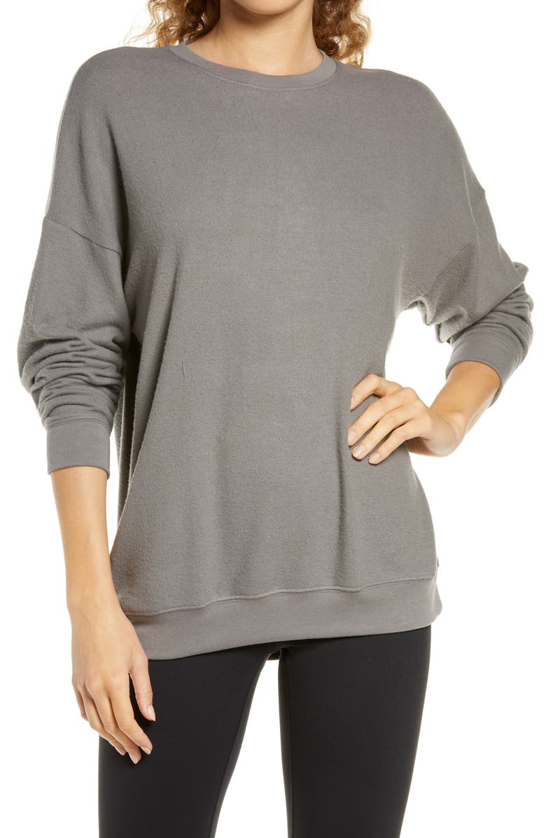 Soho Pullover, Main, color, SHADOW GREY