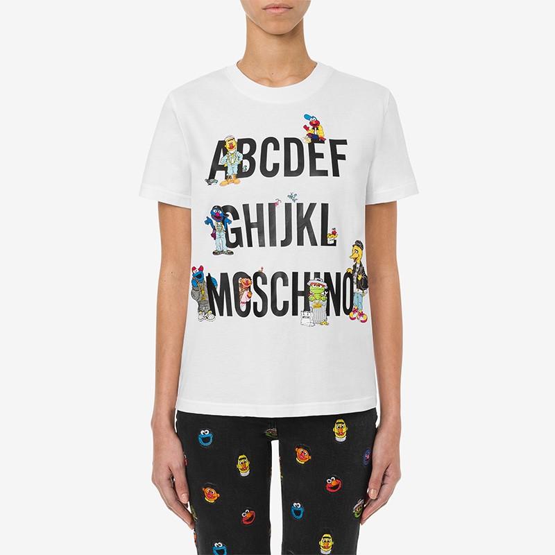 Moschino x Sesame Street T-...
