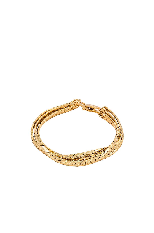 Priya Layered Bracelet in Gold