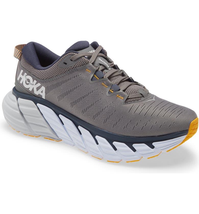 Gaviota 3 Running Shoe, Main, color, CHARCOAL GRAY/ OMBRE BLUE