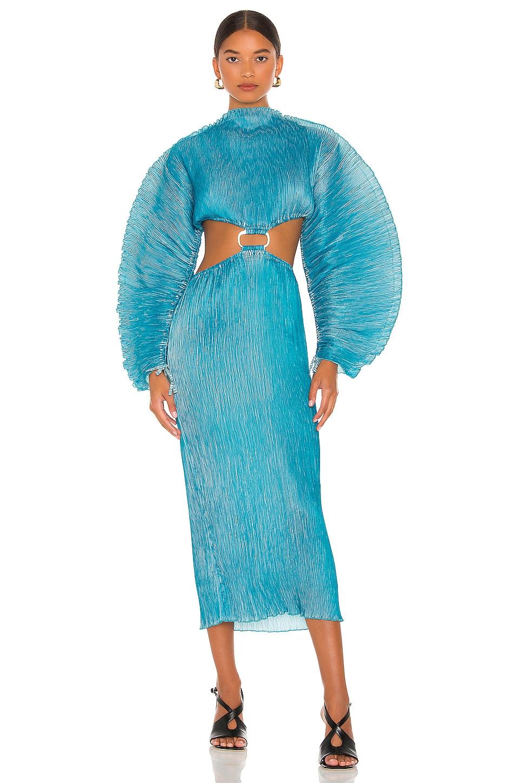 Cult Gaia Akilah Dress in Cyan   REVOLVE