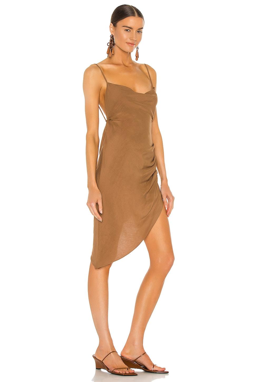 Amanda Uprichard X REVOLVE Janet Dress in Beige | REVOLVE