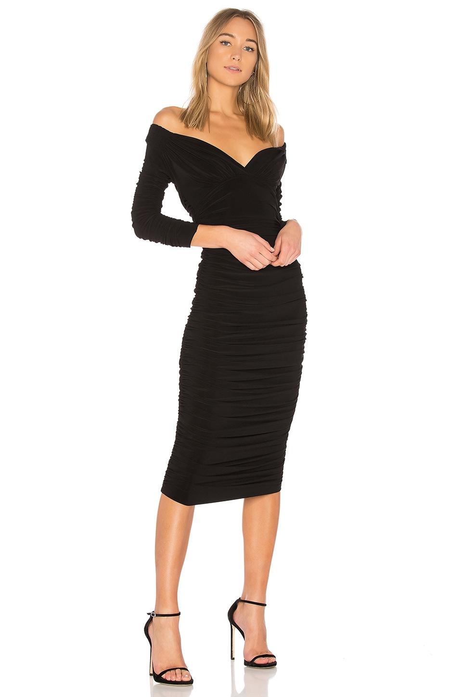 Norma Kamali Tara Dress in Black   REVOLVE