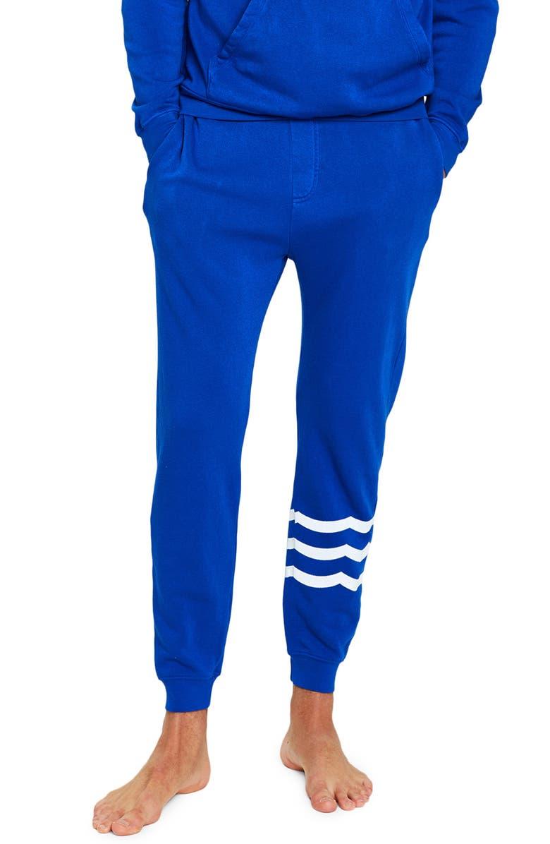 SOL ANGELES Essential Coastal Jogger Sweatpants, Main, color, COBALT