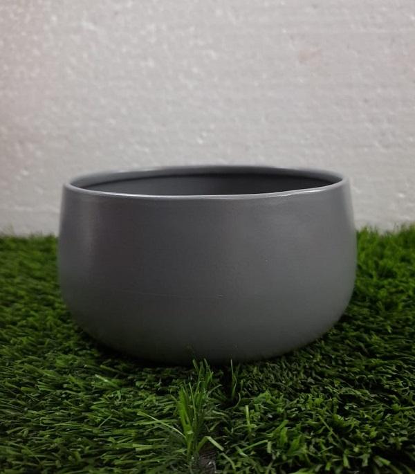 Round Metal Bowl Planter (G...