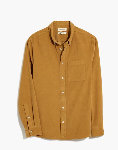 Corduroy Perfect Shirt in sahara sand