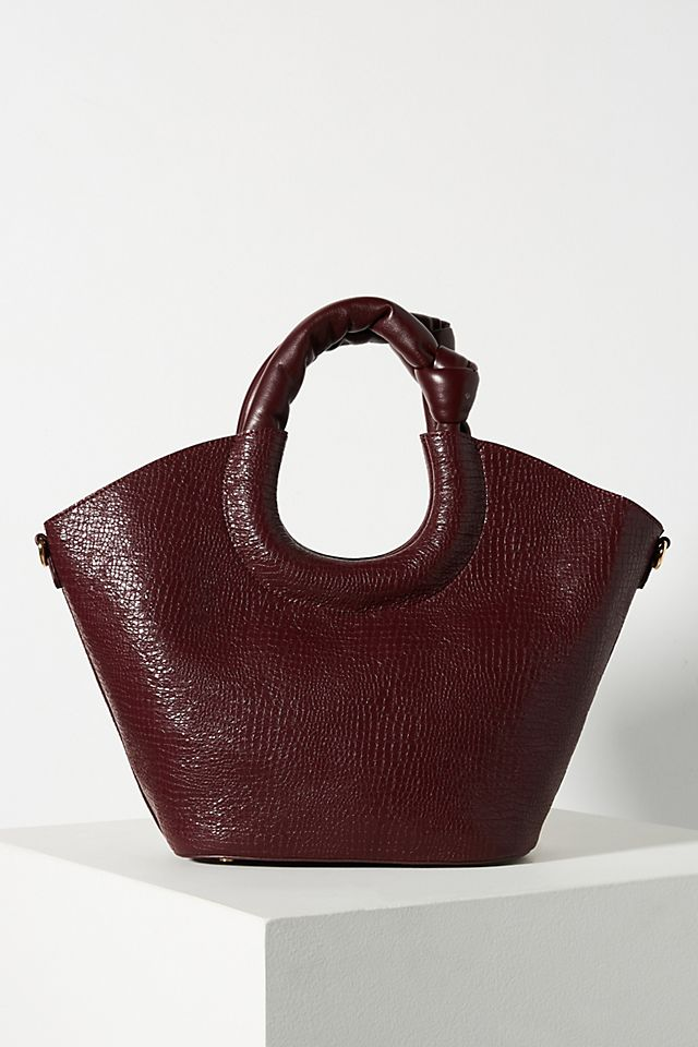 Ring Handle Crossbody Bag