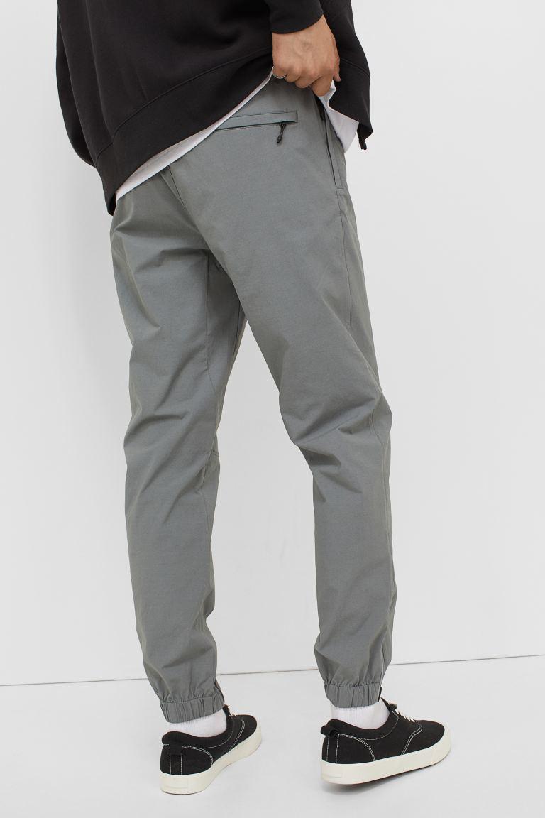 Regular Fit Joggers - Gray - Men   H&M US