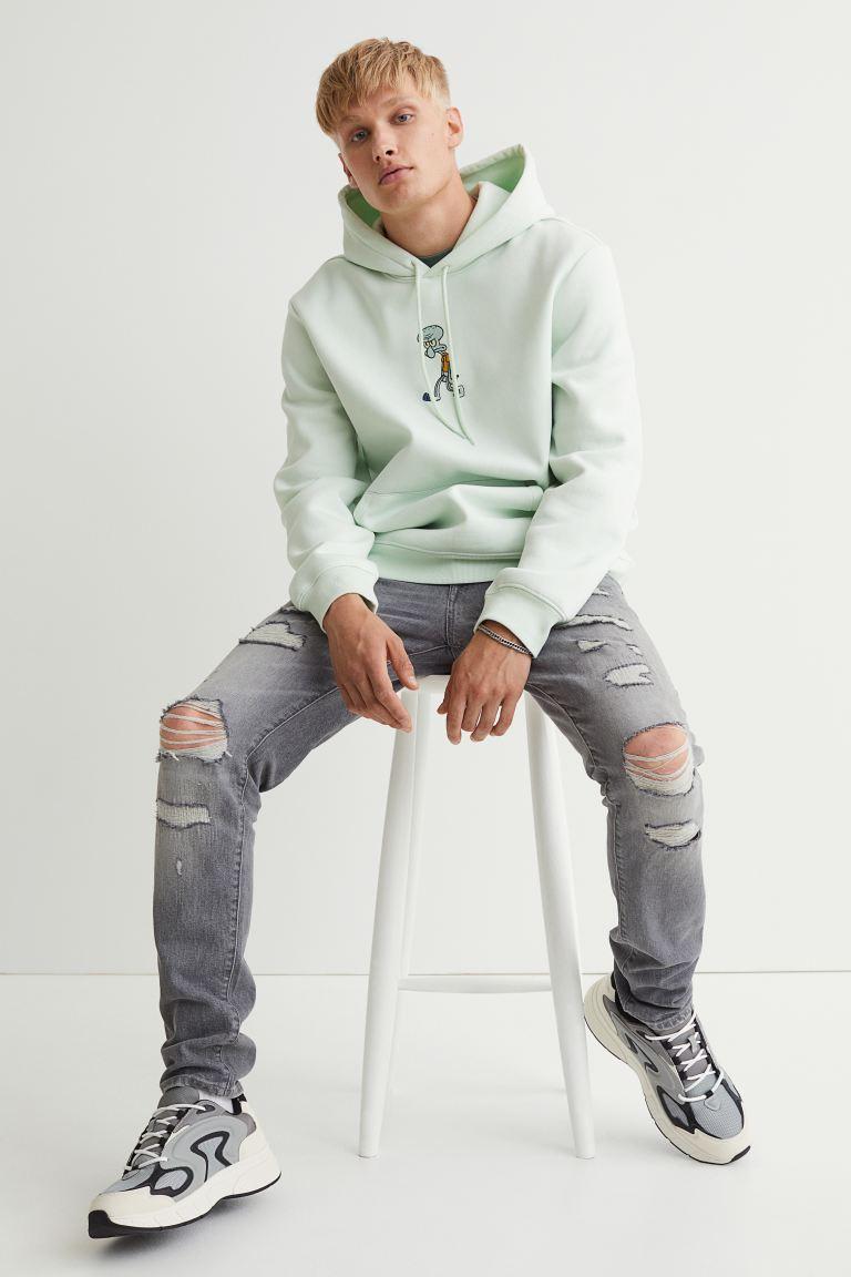 Skinny Jeans - Gray - Men | H&M US
