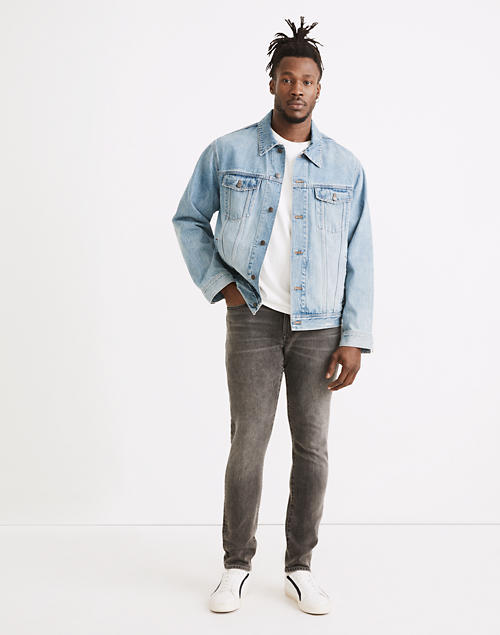 Athletic Slim Jeans in Woodford Wash in woodford wash image 1