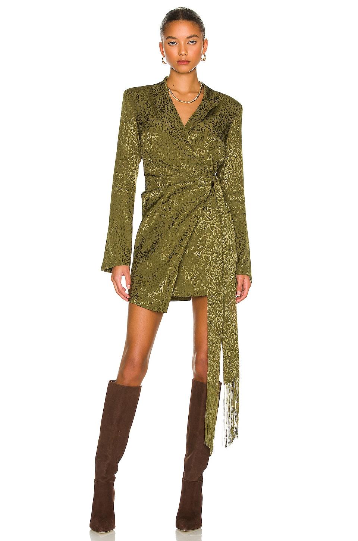 House of Harlow 1960 x REVOLVE Milani Mini Dress in Olive Green | REVOLVE