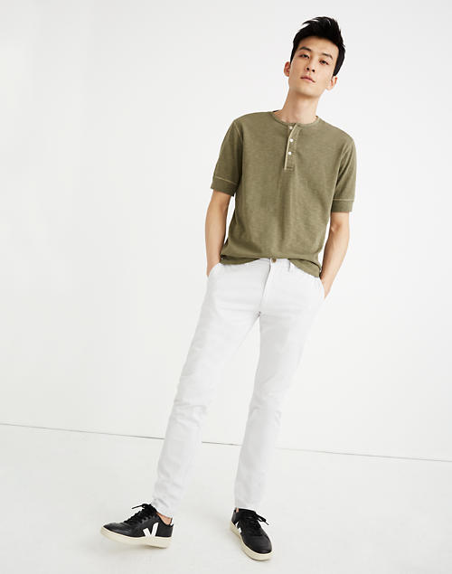 Slim Chino Pants in grey dove