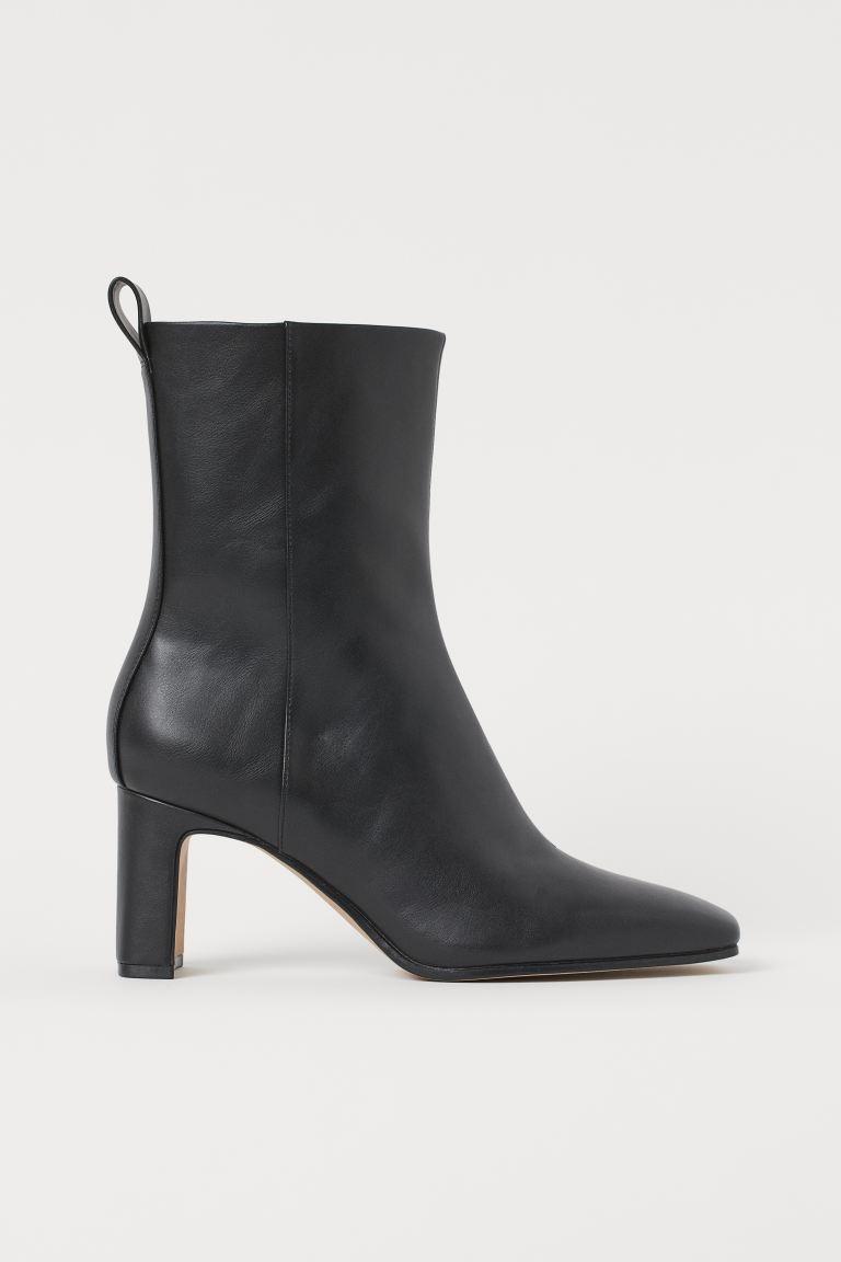 Ankle Boots - Black - Ladies