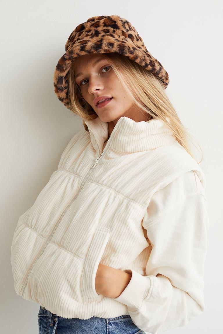 Padded Vest - White - Ladies | H&M US