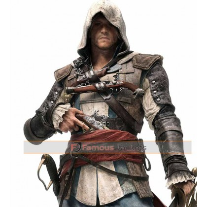 Assassins Creed Black Flag Edward Kenway Jacket Uk Shoplinkz