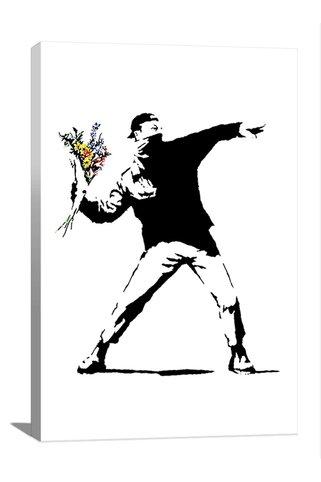 Street Art: Rage Flower Thr...