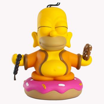 The Simpsons Homer Buddha 6...