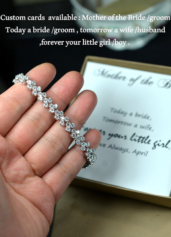 bridal party gift bridal party jewelry wedding bracelet mother of