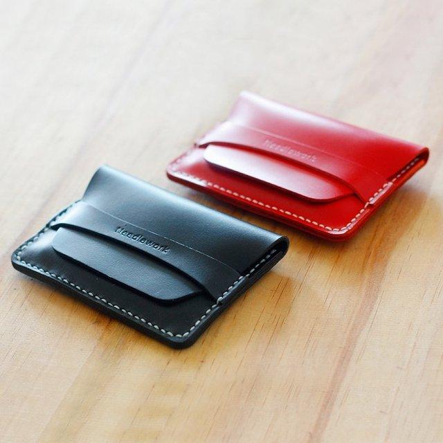 Leather Single Cardholder
