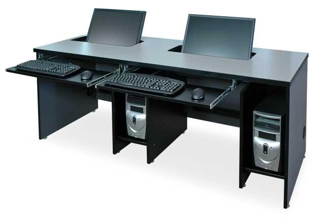 The Fp Series Widescreen Computer Desks Shoplinkz