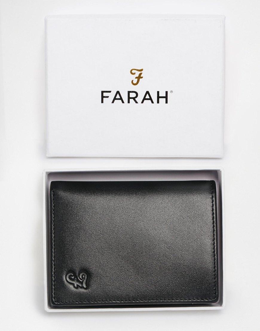 Farah Ottam Leather Vertica...