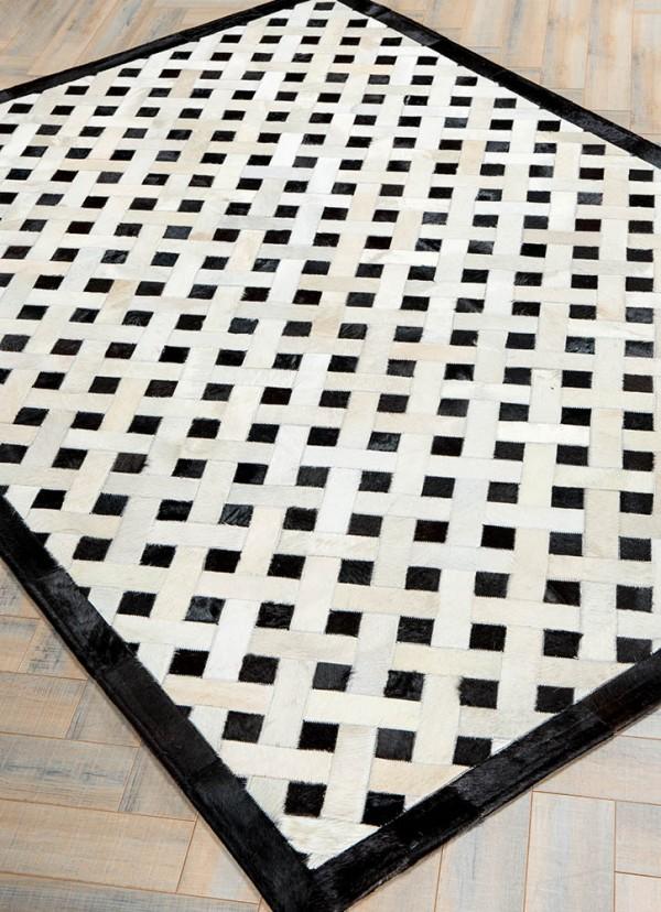 Mono Weave Black And White Patterned Rugs Shoplinkz Mosaic