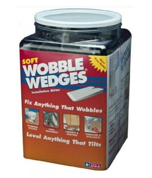 Wobble Wedge, Black, Soft, 300 Wedges