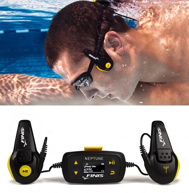 Finis neptune underwater mp3 player shoplinkz, gadgets shopl.