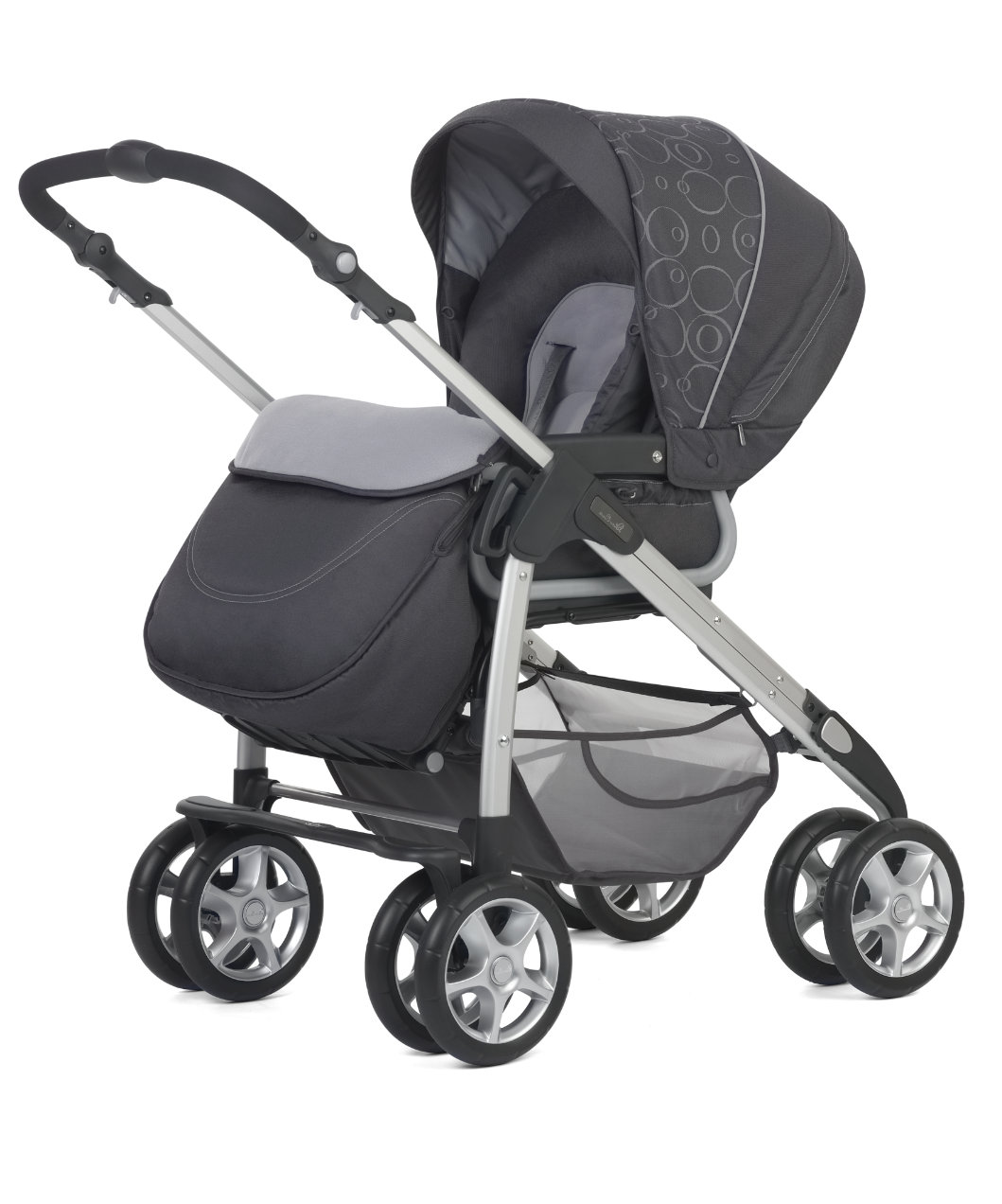 Silver Cross Linear Freeway Pram And Pushchair Charcoal Prams Amp Pushchairs Mothercare