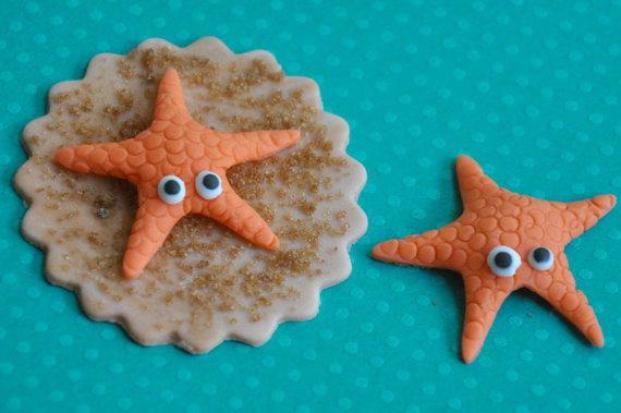 Fondant Shells Starfish San...
