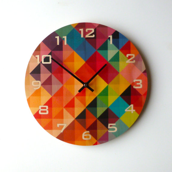 Objectify Grid2 Wall Clock ...