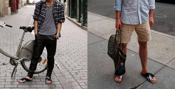 Pneu men's  sandals  Vegan-...