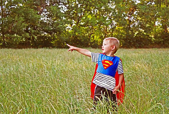 Superman Cape Dress Up Supe...