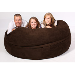 FufSack Chocolate Brown Sof...